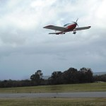 VH-EZT at serpentine airfield takeoff