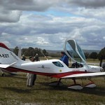 VH-EZT at serpentine airfield