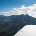 stirling ranges from the air vh-ezt UFC uni flying club jandakot learn to fly aircraft hire