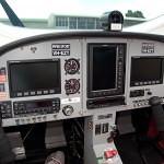 VH-EZT cockpit