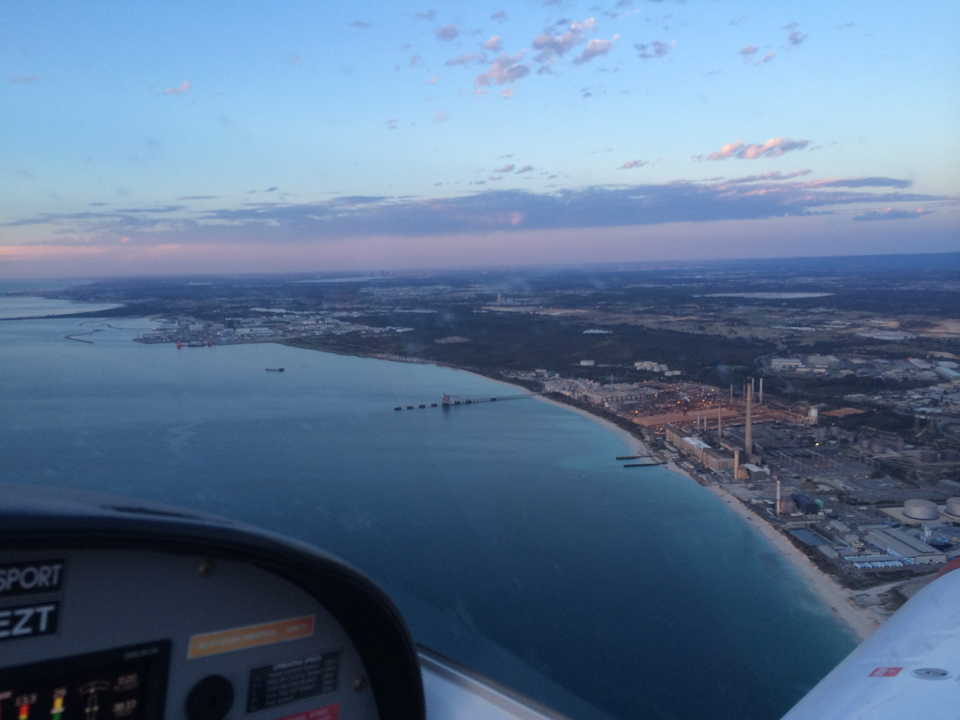 university flying club jandakot approach to boatyard