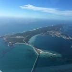 garden island western australia from university flying club aircraft VH-EZT