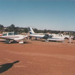 VH-SYM 15-16 Feb 1991 at Narrogin