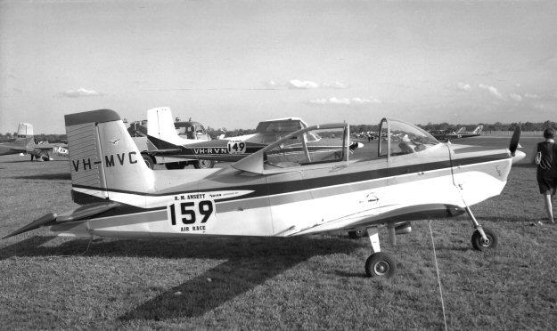 VH-MVC Victa Airtourer Ansett Air Race 1962