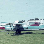 VH-UER university flying club aircraft cessna 150 1964 jandakot airport learn to fly flight training flight school
