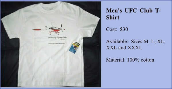 uni flying club jandakot mens t-shirt