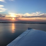 university flying club jandakot garden island sunset