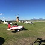 aircraft at the lily dutch windmill runway airstrip
